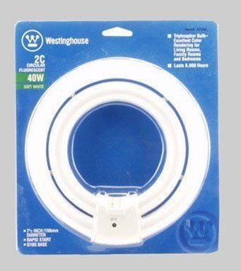 Westinghouse Lighting Corp 40-watt 2C Fluorescent Circular Lamp (2)