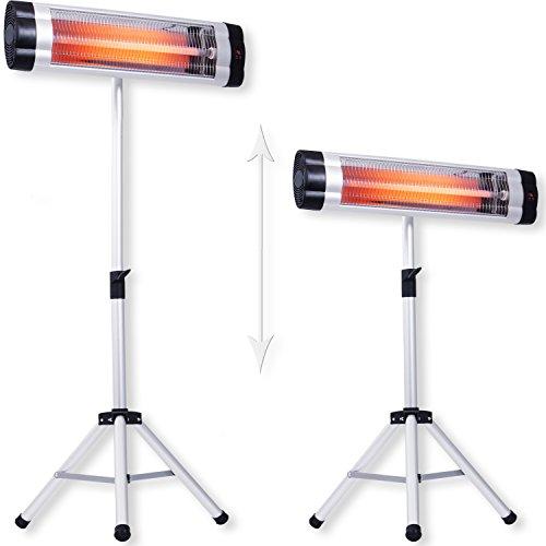 Kesser® Infrarotstrahler Heizstrahler Wärmestrahler Terrassenstrahler Temperatur kaufen  Bild 1*