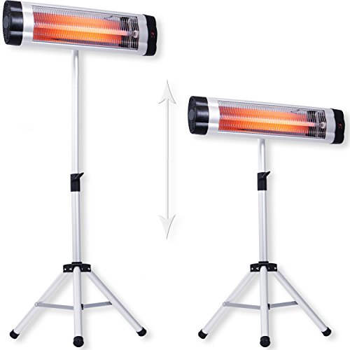 Kesser® Infrarotstrahler Heizstrahler Wärmestrahler Terrassenstrahler Temperatur Bild 6*