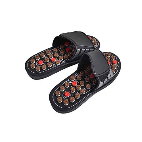 Purchase ZCHAN Foot Massager Foot Massage Tool, Acupressure Massage Slippers Men's Sandals, Reduce P...