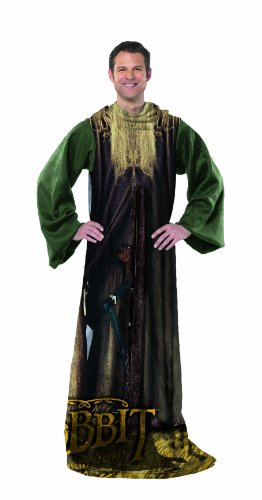 Warner Brothers The Hobbit - Being Gandalf Costume Comfy Throw (LOTR - Lord of the Rings)