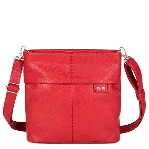 zwei Mademoiselle M8 Umhängetasche 25 cm red