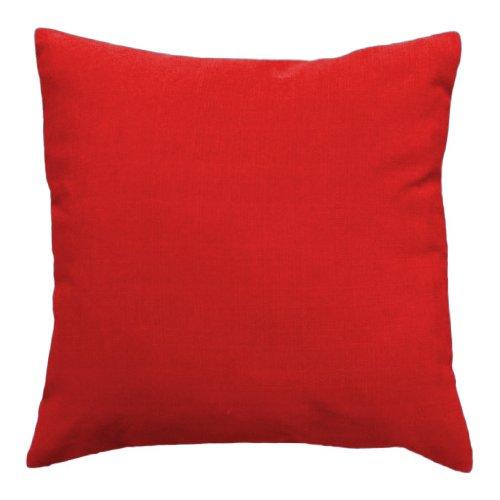 Gardenista Cojín de Muebles para Jardín | Cojines Silla Jardin | Relleno de Miga de Espuma para Uso Externo | Resistente al Agua | 45 x 45 cm (Rojo)