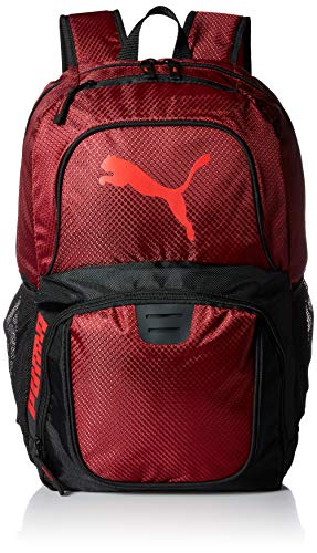 PUMA Women's Evercat Contender 3.0 Backpack, dark red, One Size