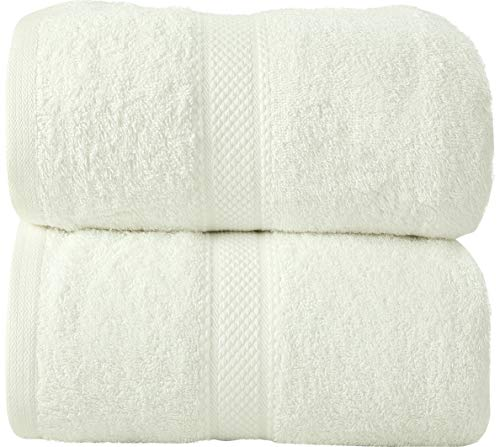 LUXEWARE - FEEL THE LUXURY Daily Use Jumbo Extra Large XL Bath Sheet Towel...