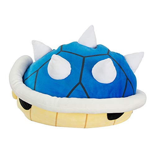 Club Mocchi Mocchi Nintendo Mario Kart Blue Shell Plush Stuffed Toy