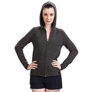 Citizen Cashmere Zip Hoodies for Women – 100% Cashmere