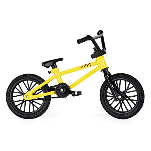 TECH DECK BMX Finger Bike Series 12-Replica Bike Real Metal Frame, Moveable Parts for Flick Tricks Finger Bike Games (Styles Vary)