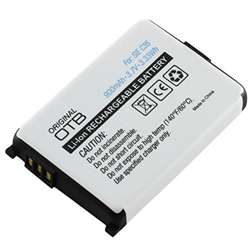 Akku Li-Ion für Siemens C35 C35i M35 M35i S35 S35i / 900 mAh accu Batterie