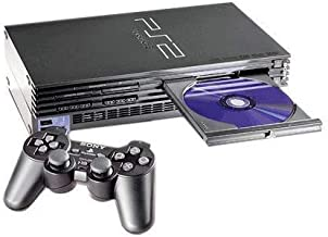 Sony PlayStation 2 Console - Black (Renewed)