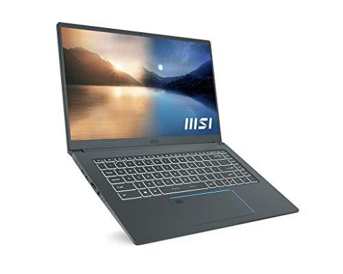 "MSI Portatile PRESTIGE 15 A11SCS-031ES 15.6"" FHD (1920 * 1080) 60Hz i7-1185G7 GTX 1650 Ti MAX Q GDDR5 4GB DDR4 16GB (3200MHz), 1TB SSD. W10 HOME, grigio"