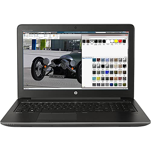 HP Mobile Worstation ZBook 15 G3 15.6 inches FHD Laptop, Core i7-6700HQ 2.6GHz, 16GB RAM, 512GB Solid State Drive, Windows 10 Pro 64bit, CAM, NVIDIA Quadro M1000M (Renewed)