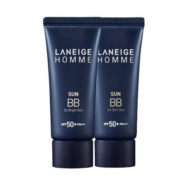 それによって聖域運ぶKorea Cosmetics 2014 Advanced Laneige Homme Sun BB Cream (SPF50+/PA+++) - #Dark skin