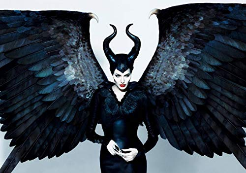 Generic Maleficent Film Foto Poster Textless Film Kunst Angelina Jolie 006 (A5-A4-A3) - A5