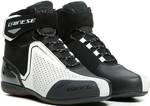 Dainese Energyca Air Damen Motorradschuhe Schwarz/Weiß 36