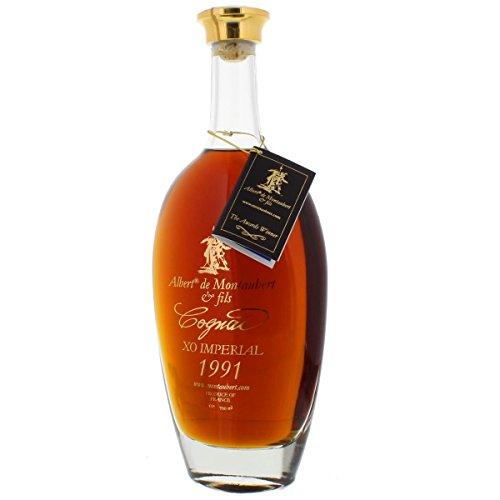 Cognac 1991 - Jahrgangscognac Albert de Montaubert 1991