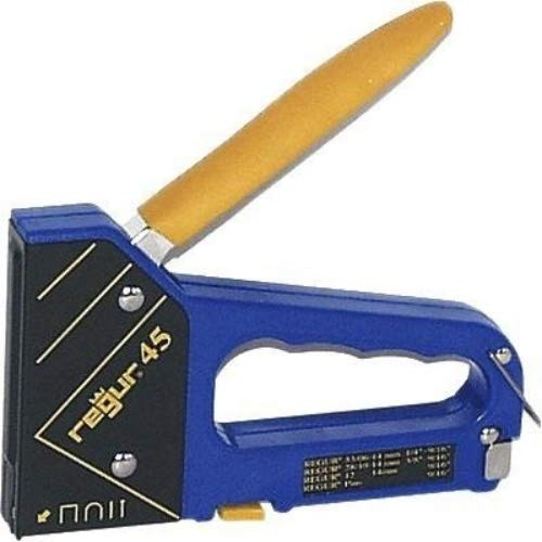 Grapadora manual REGUR 45: la grapadora multifunción 4 en 1 procesa grapas...