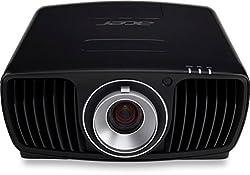 Acer V9800 DLP projector (Native 4k UHD 3840 x 2160 pixels, contrast 1.000.000: 1, 2.200 ANSI lumens) black