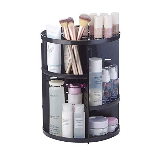 360 graden draaibare make-up Organizer Cosmetische Storage Display Stand Box Dresser Lipstick Skin Care Products Shelf Cosmetische ontvangen Box B High Quality c Mooie en praktische cosmetische opberg