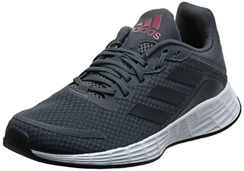 adidas Damskie tenisówki Duramo Sl, 5,5 UK, Szary pięciordzeniowy czarny - 43 1/3 EU