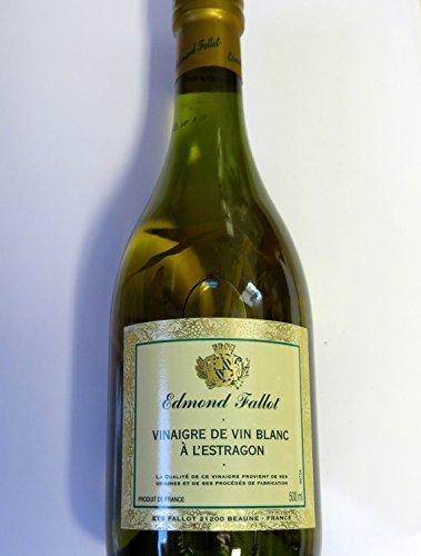 Weißweinessig mit Estragon - Edmond Fallot - 500ml -