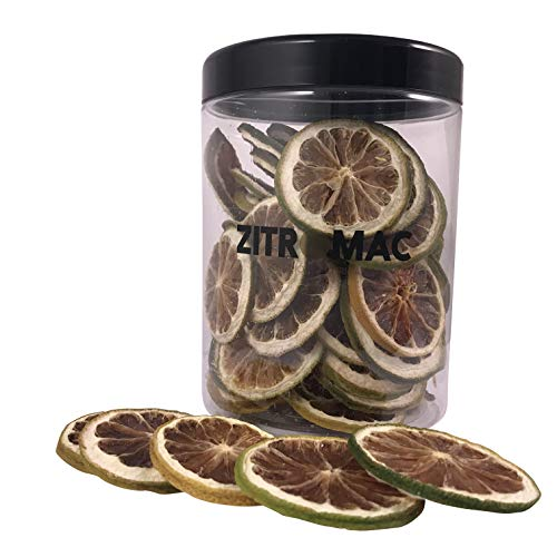 Limone verde essiccate per cocktail. Frutta secca senza zuccharo cocktail / decorazione / guarnizione / Pasticceria / Bevande. Fetta di limone verde e