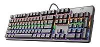 Reaktionsschnelle lineare mechanische Schalter mit einer Lebensdauer von 50 Mio. Tastenanschlägen. 8 Regenbogenwellen-Farbmodi mit einstellbarer Helligkeit Verbessertes Anti-Ghosting mit N-Key-Rollover Spezieller Spielmodus für die Deaktivierung der ...