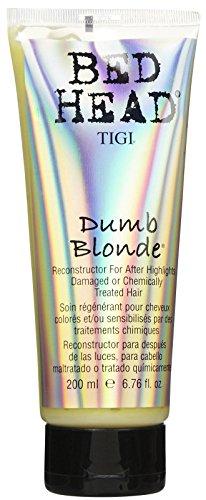 TIGI Bed Head Soin régénérant Dumb Blond pour cheveux colorés et/ou sensibilisés par un traitement chimique 200 ml
