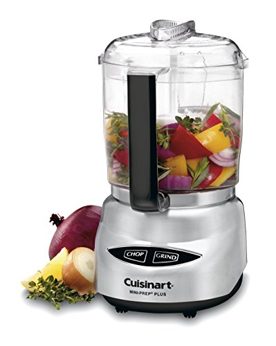 Cuisinart Mini-Prep Plus 4-Cup Food Processor, Brushed Stainless
