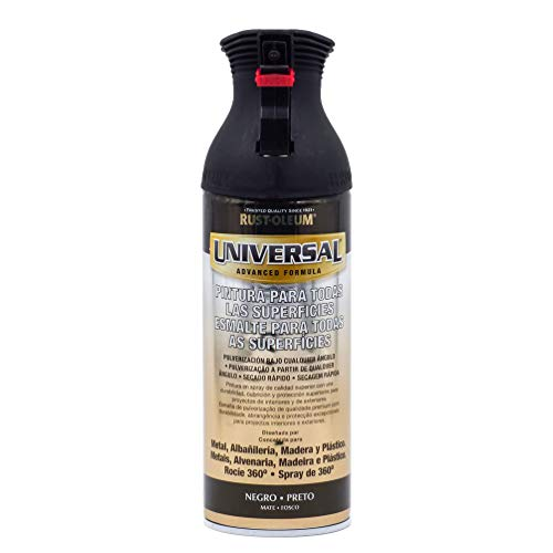 Pintura Spray Universal Rust-Oleum (Negro Mate)