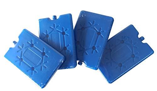 Teti`s Ducks Home - Set de 4 acumuladores de frío con 200 ml Cada uno. Ideal para Nevera portátil y Bolsa fría. Bloques de congelador de Hielo Finos y Ligeros para neveras, fiambreras y Camping
