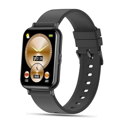 SEPVER Smartwatch, 1.65' Reloj Inteligente con Impermeable IP68, Pulsómetro, Monitor de Sueño, Podómetro Pulsera de Actividad Deportivo Hombre Mujer Monitores de Actividad para Android iOS