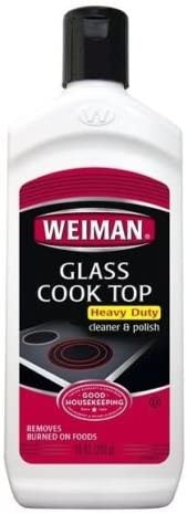 Weiman Glass Cooktop Cleaner Polish Heavy Duty Stove Eco Friendly 10 oz Bottle product image