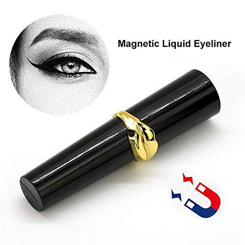 Williamly Stay All Day Waterproof Eye Liner - Magnetic Liquid Eyeliner Eyeliner Especial Lashliner para Uso con Pestañas Falsas Magnéticas, 8 Ml