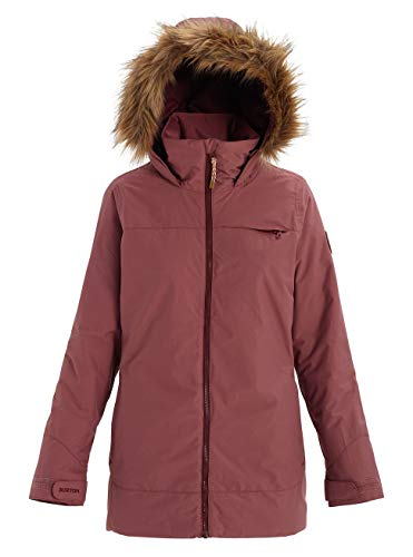 Burton Damen Lelah Snowboard Jacke, Rose Brown, L