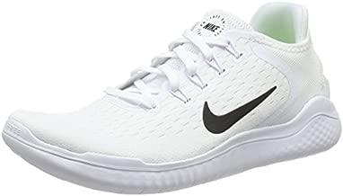 Nike Men's Free RN 2018 Running Shoe White/Black Size 12 M US