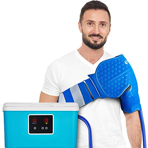 Cold Therapy System with Large Shoulder Pad — for Post-Surgery Care,...