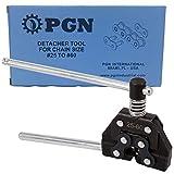 PGN - Roller Chain Cutter Breaker Detacher Splitter Tool for Chain Size # 25 35 40 41 50 60 420 415 415H 428H 520 530#