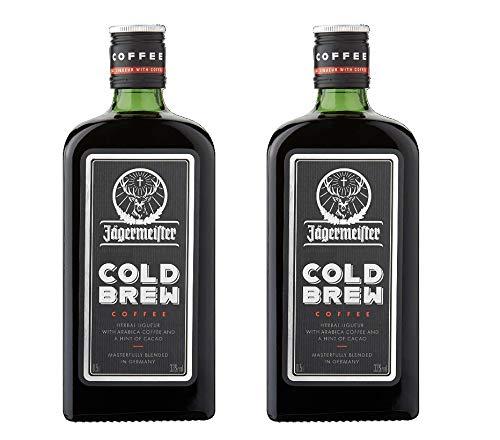 2 Flaschen Jägermeister Cold Brew Coffee Herbal Liqueur a 0,5L Mast