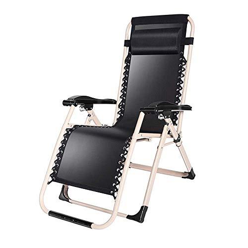 AI LI WEI Home Outdoor/Terras stoelen draagbare stoel Reclining Outdoor strand gazon Camping voor zware mensen Folding Zonneligstoel ondersteuning 200kg lichte camping stoel