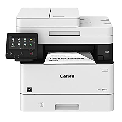 Canon Lasers MF424dw Monochrome Printer with Scanner Copier & Fax with additional paper tray for MF424DW, MF426DW, and LBP214DW