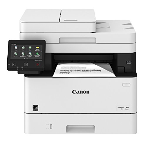 Canon imageCLASS MF424dw Monochrome Printer with Scanner Copier & Fax, Amazon Dash Replenishment Ready