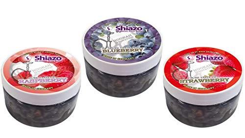 Shisha Dampfsteine Mix - die nikotinfreie Alternative! - Mix Packung mit verschiedene Sorten Fruchtig, Minze, Beeren, Exotisch