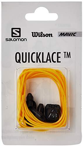Salomon Quicklace Kit Sistema De Cordones Rápido L32667500, Unisex, Amarillo