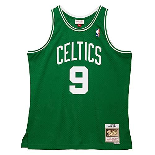 Mitchell & Ness NBA Rajon Rondo Boston Celtics 2007-08 Hardwood Classics Swingman, color verde, Negro , medium