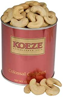 Koeze Colossal Cashew 14 oz. Gift Tin