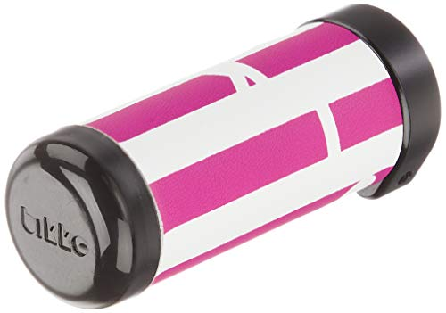 ブリヂストン(BRIDGESTONE) bikkeハンドルグリップ(ショート) F170404P-W HG-BKS2 ボーダー(ピンク)