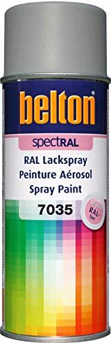 belton spectRAL Lackspray RAL 7035 lichtgrau, matt, 400 ml - Profi-Qualität