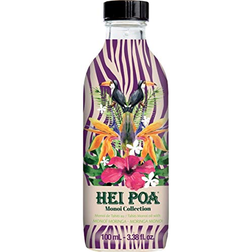 Hei Poa, Aceite corporal Monoï Puro Tahití, Perfume