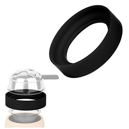 Ks Shisha Ringo Silikon Abstandsring schwarz für Smokebox